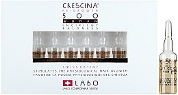Parfémy, Parfumerie, kosmetika Lotion-koncentrát pro obnovení růstu vlasů u žen - Labo Crescina HFSC Re-Growth 500