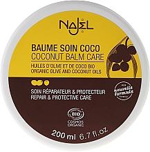 """Parfémy, Parfumerie, kosmetika Balzám na vlasy """"Kokos"""" - Najel Coconut Care Balm"""