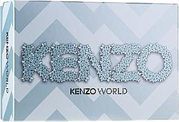 Parfémy, Parfumerie, kosmetika Kenzo World Kenzo - Sada (edp/75ml + b/lot/75ml + pouch)