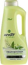 """Parfémy, Parfumerie, kosmetika Koupelová pěna """"Zelený čaj a konvalinka"""" - Apart Natural Body Care Bath Foam"""