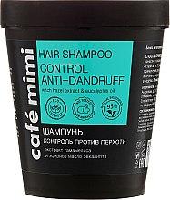 "Parfémy, Parfumerie, kosmetika Šampon na vlasy ""Kontrola proti lupům"" - Cafe Mimi Shampoo"