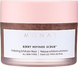 Parfémy, Parfumerie, kosmetika Pleťová maska-peeling - Monat Berry Refined Scrub Perfecting Exfoliator Mask