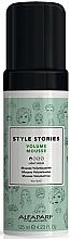 Parfémy, Parfumerie, kosmetika Pěna pro objem vlasů s lehkou fixací - Alfaparf Milano Style Stories Volume Mousse