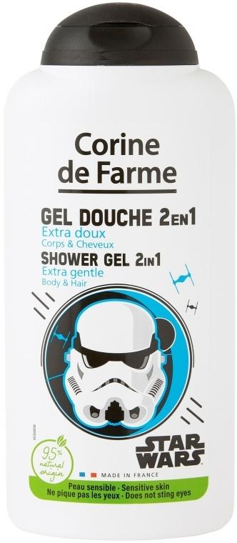 Šampon a sprchový gel 2 v 1 pro chlapce - Corine de Farme Star Wars Force