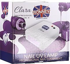 Parfémy, Parfumerie, kosmetika Lampa na nehty, červená - Ronney Professional Nail UV Lamp Clara 36W (GY-UV-818)