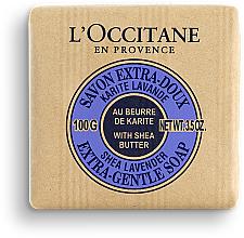 Parfémy, Parfumerie, kosmetika Mýdlo Bambucký olej a levandule - Karite Lavande Shea Lavender Butter Extra Gentle Soap