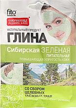 "Parfémy, Parfumerie, kosmetika Hlína na obličej a tělo ""Sibiřská"", zelená - Fito Kosmetik"