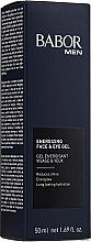 Parfémy, Parfumerie, kosmetika Gel na obličej a oční víčka Aktivátor energie - Babor Men Energizing Face & Eye Gel