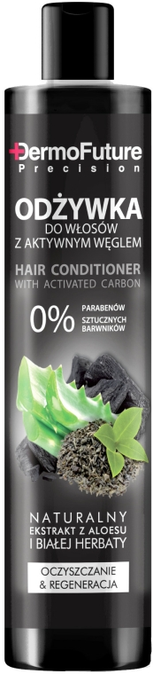 Kondicionér na vlasy s aktivním uhlím - DermoFuture Hair Conditioner With Activated Carbon