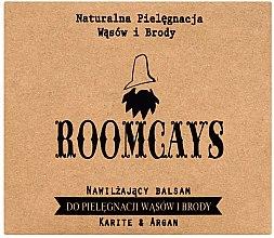 Parfémy, Parfumerie, kosmetika Balzám pro vousy a plnovous s bambuckým máslem - Roomcays