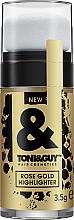 Parfémy, Parfumerie, kosmetika Rozjasňovač na vlasy - Toni&Guy Rose Gold Highlighter
