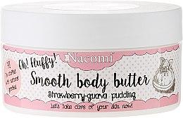 """Parfémy, Parfumerie, kosmetika Tělový olej """"Jahodově guavový pudink"""" - Nacomi Smooth Body Butter Strawberry-Guawa Pudding"""