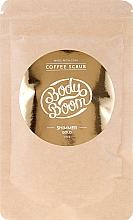 Parfémy, Parfumerie, kosmetika Kávový scrub na tělo - BodyBoom Coffe Scrub Shimmer Gold