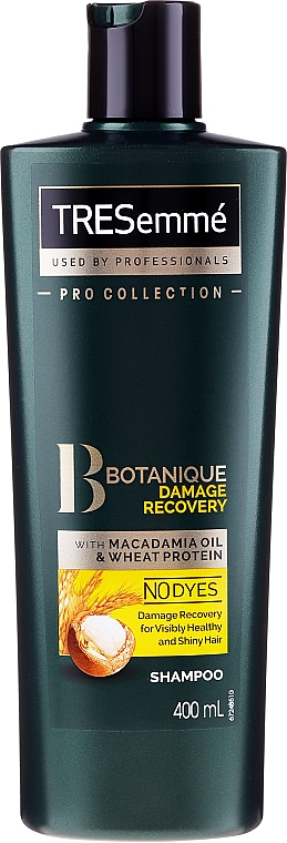 Šampon na poškozené vlasy - Tresemme Botanique Damage Recovery With Macadamia Oil & Wheat Protein Shampoo