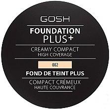 Parfémy, Parfumerie, kosmetika Tónalni krém kompaktní - Gosh Foundation Plus + Creamy Compact High Coverage