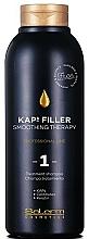 Parfémy, Parfumerie, kosmetika Pečující šampon pro narovnání vlasů №1 - Salerm Kaps Filler Smoothing Therapy Shampoo