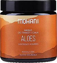 """Parfémy, Parfumerie, kosmetika Olej na obličej a tělo """"Aloe"""" - Mohani Aloe Vera Rich Batter"""