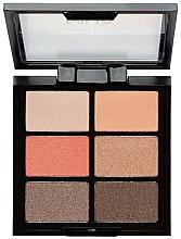 Parfémy, Parfumerie, kosmetika Paleta stínů - MUA 6 Shade Palette