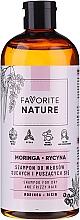 Parfémy, Parfumerie, kosmetika Šampon pro suché a kudrnaté vlasy - Favorite Nature Shampoo For Dry And Frizzy Hair Moringa & Ricin