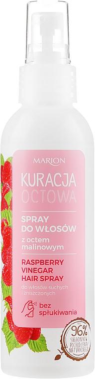 Sprej na vlasy s malinovým octem pro suché a poškozené vlasy - Marion Raspberry Vinegar Hair Spray