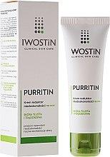 Parfémy, Parfumerie, kosmetika Noční krém proti nedokonalostem pleti - Iwostin Purritin Reducing Imperfections Night Cream