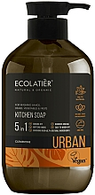 Parfémy, Parfumerie, kosmetika Tektuté mýdlo na ruce Klementinka - Ecolatier Urban Liquid Soap