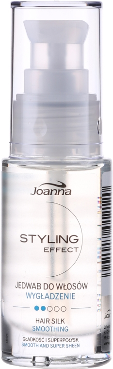 Hedvábí na vlasy - Joanna Styling Effect Hair Silk