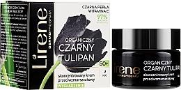 Parfémy, Parfumerie, kosmetika Koncentrovaný noční krém proti vráskám 50+ - Lirene Black Tulip
