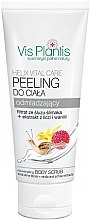 """Parfémy, Parfumerie, kosmetika Tělový peeling """"Liči a vanilka """" - Vis Plantis Helix Vital Care Rejuvenating Creamy Body Scrub"""