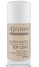 Parfémy, Parfumerie, kosmetika Vrchní matný povlak - Astra Make-up Super Matte Top Coat
