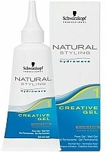 Parfémy, Parfumerie, kosmetika Kreativní gel pro kulmy na vlasy - Schwarzkopf Professional Natural Styling Creative Gel №1
