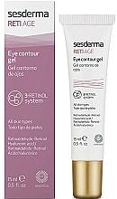 Parfémy, Parfumerie, kosmetika Gel proti stárnutí na oční okolí se třemi typy retinolu - SesDerma Laboratories Reti Age Facial Eye Contour Gel 3-Retinol System