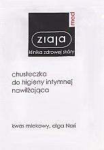 Parfémy, Parfumerie, kosmetika Zvlhčující ubrousek pro intimní hygienu - Ziaja Med