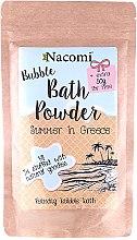 "Parfémy, Parfumerie, kosmetika Pudr do koupele ""Řecké léto"" - Nacomi Bath Powder"