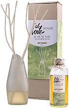 Parfémy, Parfumerie, kosmetika Aroma difuzér se skleněnou vázou - We Love The Planet Light Lemongras Diffuser