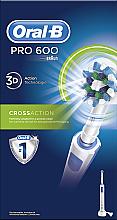 Parfémy, Parfumerie, kosmetika Elektrický zubní kartáček - Oral-B Pro 600 Cross Action