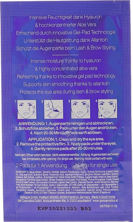 Podložky na péči o oči - RefectoCil Eye Care Pads (tester) — foto N3