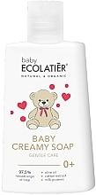Parfémy, Parfumerie, kosmetika Dětské krémové mýdlo - Ecolatier Baby Creamy Soap