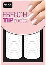 Parfémy, Parfumerie, kosmetika Nálepka-šablon na francuzskou manikúru - Wibo French Manicure Tip Guides
