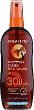 Parfémy, Parfumerie, kosmetika Voděodolný ochranný olej na opalováni SPF30 - Kolastyna