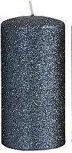 Parfémy, Parfumerie, kosmetika Dekorativní svíčka, černá, 7x18 cm - Artman Glamour