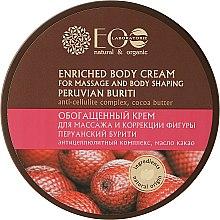 Parfémy, Parfumerie, kosmetika Obohacující krém pro masáž a korekcí těla - ECO Laboratorie Natural & Organic