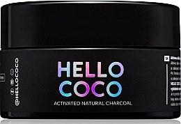 Parfémy, Parfumerie, kosmetika Bělicí zubní prášek s uhlím - Hello Coco Sweet Mint Activated Natural Charcoal Teeth Whitener