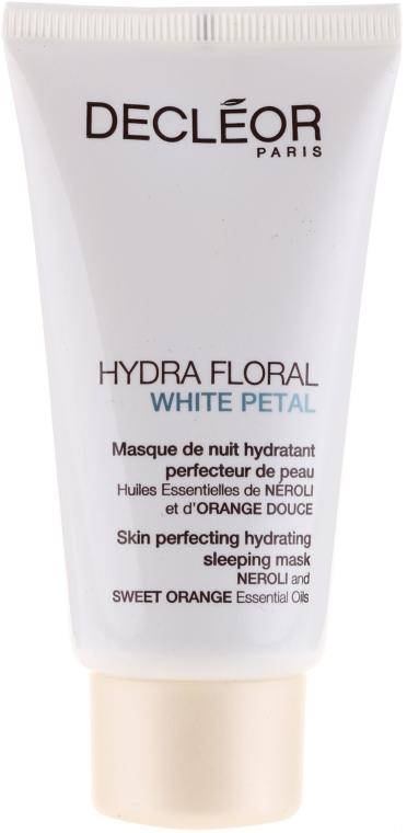 Změkčující maska na obličej - Decleor Hydra Floral White Petal Skin Perfecting Hydrating Sleeping Mask — foto N1