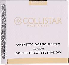 Parfémy, Parfumerie, kosmetika Oční stíny - Collistar Double Effect Eye-Shadow Wet & Dry