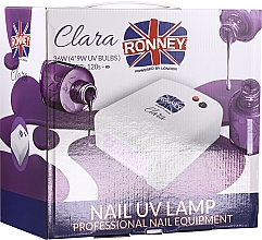 Parfémy, Parfumerie, kosmetika UV Lampa na nehty - Ronney Profesional Clara UV 36W (GY-UV-818) Lamp
