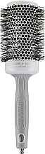 Parfémy, Parfumerie, kosmetika Profesionální keramický kartáč na vlasy 55 mm, černý - Olivia Garden Ceramic+Ion Thermal Brush d 55