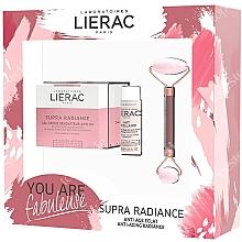Parfémy, Parfumerie, kosmetika Sada - Lierac Supra Radiance Set (f/cr/50ml + f/milk/30ml + roller/1pcs)