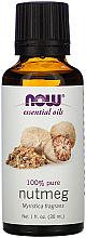 Parfémy, Parfumerie, kosmetika Esenciální olej Muškátový oříšek - Now Foods Essential Oils 100% Pure Nutmeg