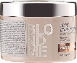 Parfémy, Parfumerie, kosmetika Maska-bonding pro teplé odstíny blond - Schwarzkopf Professional Blondme Tone Enhancing Bonding Mask Warm Blondes